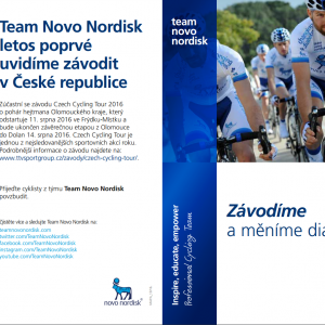 Team Novo Nordisk na letošní Czech Cycling Tour
